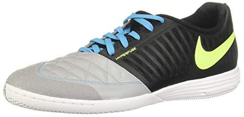Nike Herren Lunar Gato Ii Ic Fußballschuhe, Mehrfarbig (Black/Volt/Wolf Grey/Lt Current Blue 70), 43 EU