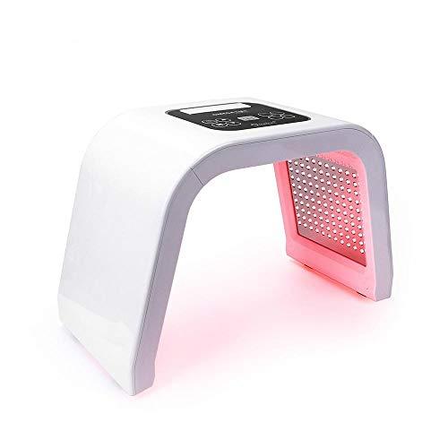 7 couleurs PDF masque LED rajeunissement de la peau Photon dispositif Spa dissolvant d'acné Anti-rides rouge lumière LED EUPlug