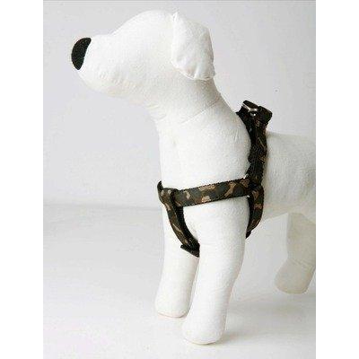 Lola & Foxy Camo Dog Step-in-Harness, 3/4' Wide, Medium Size (16'-22' Chest Size)