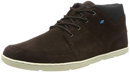 Boxfresh Herren Cluff Sneaker, Braun (Dark Brown Drk BRWN), 44 EU