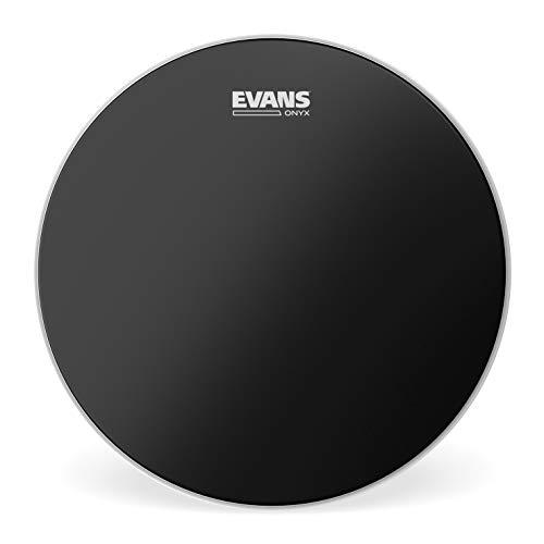 Evans B14ONX2 35,56cm (14 Zoll) Tomfell Onyx zweilagig 0,19mm, Schwarz