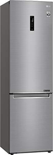 Réfrigérateur combiné Lg GBB72PZDFN - Réfrigérateur congélateur bas - 384 litres -...
