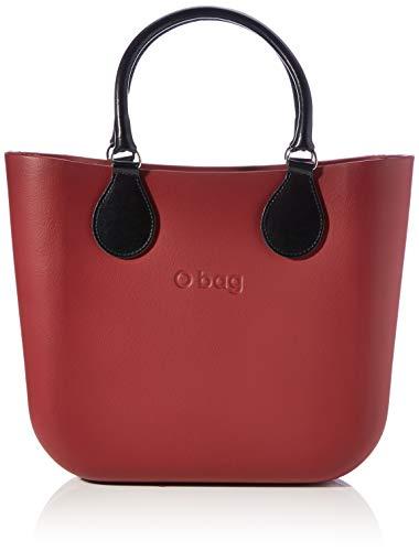 OBAG O Bag Mini, Bolso de Mujer, Rojo rubí, Talla única