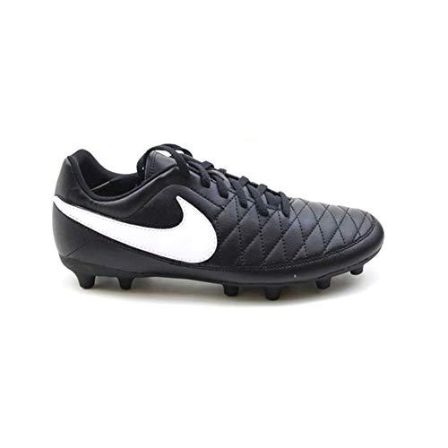 Nike MAJESTRY FG, Zapatillas de Deporte Unisex Adulto, Negro (Black/White/Volt 017), 40.5 EU