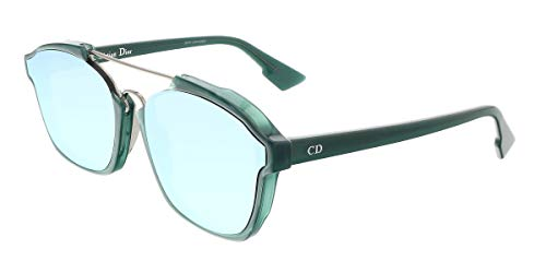 Dior DIORABSTRACT A4 CJH Gafas de sol, Verde (Opal Green/Light Blue Grey Speckled Marl), 58 para Mujer