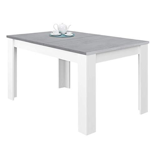 Habitdesign 0L4586A - Mesa de Comedor Extensible, Mesa saló