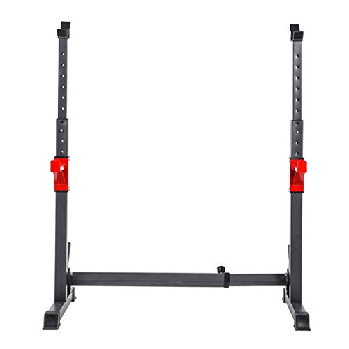 DFANCE Squat Rack Barbell Stands Heavy Duty Rack Bench Rack MusculacióN Soporte Sentadillas, Ajuste Bench Press Rack Weight Rack para Gimnasio En Casa Ejercicio FíSico