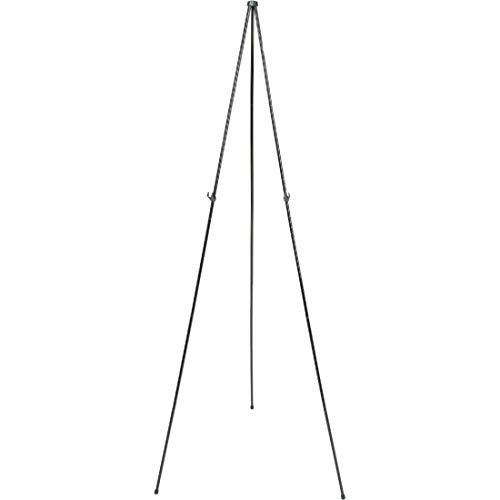 "Quartet Easel Stand, Collapsible, Portable Display Stand for Home School Supplies, Home Office Supply Tripod for Posters, Paintings, Art or White Boards, Base 63"" Max. Height, Supports 5 lbs. (29E)"