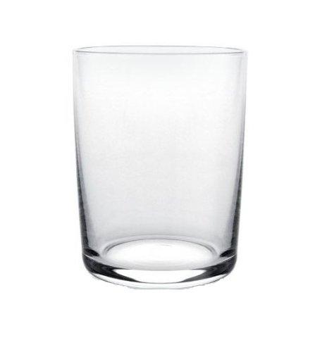 Alessi Ajm29/1 Glass Family Verre à Vin Blanc en Verre Cristallin, Set de 4 Pièces