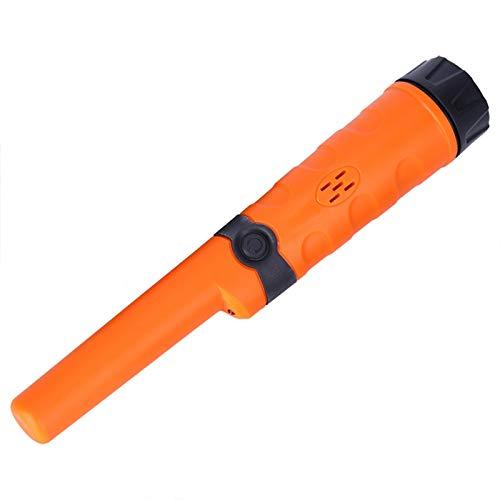 Detección de herramienta Pin Puntero Detector de metales Vibración Full impermeable para exterior para fábrica (naranja)