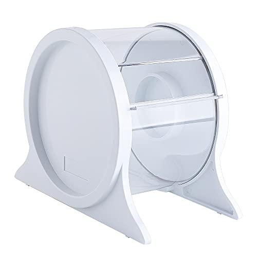 LVCHEN Barrier Film Dispenser - Dental Organizer for 4' x 6' Plastic Defend Barrier,Acrylic Stand Holder for Tattoo Disposable Clear Barrier Film