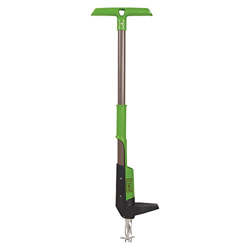 AMES 2917300 Steel Stand Up Weeder, 40-Inch