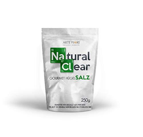 Natürliches einzigartiges Gourmet Salz 1kg (4x250g) zum Kochen und Backen mit mehr Kalium, Magnesium & Jod | Weniger Wassereinlagerung & absolut naturbelassen