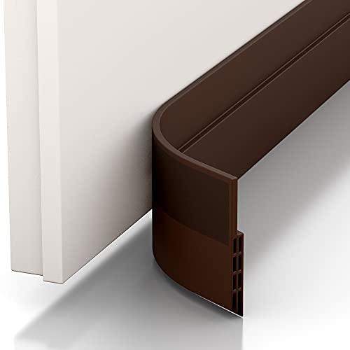 Vellure® Türdichtung Zugluftstopper - NEU Premium Türdichtung selbstklebend (Schnell & einfach angebracht) Ideal auch als Schallschutz, Kälteschutz & Haustür Dichtung (1...