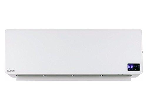 Koll Living Wandventilatorkachel, 2000 watt, met de afstandsbediening of app altijd de gewenste temperatuur instellen