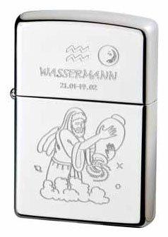 Zippo Briquet Zodiac Collection Verseau
