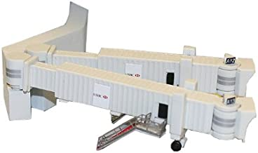 Gemini Jets Airbridge Set 2 with 3 Dual Widebody Jet Bridges and Airport Adapters, 1:400 Scale