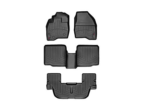 WeatherTech FloorLiner for Ford Explorer - 1st, 2nd, & 3rd Row, Black...