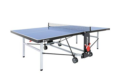 Sponeta Outdoor Tischtennisplatte: kompakte Deluxe 5-73e S, Blau