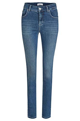 Angels Damen Jeans Skinny Slim Fit verkürzt Blue (82) 40/28