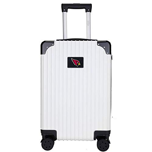 Find Discount Denco NFL Two-Tone Premium Carry-On Hardcase Luggage Spinner