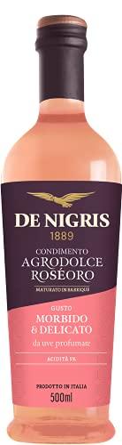 Condimento Agrodolce 'Roséoro' per Insalate e Pesce   De Nigris 1889