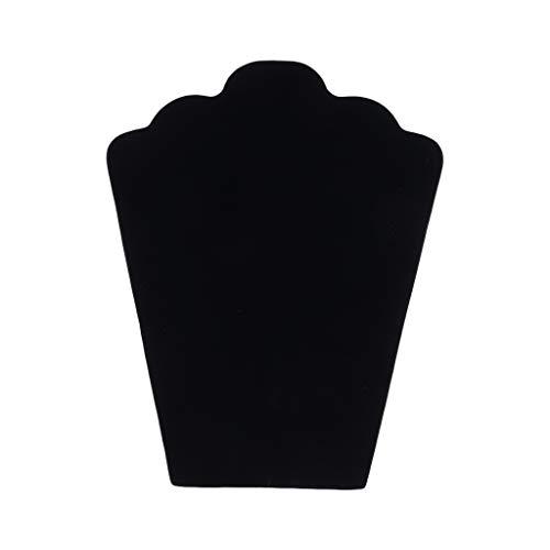 SUCHUANGUANG Dummy Halskette Ohrringe Schmuck Anhänger Displayständer schwarz Hartfaserplatte Displayständer