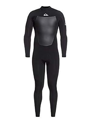Quiksilver Mens 3/2Mm Syncro - Back Zip GBS Wetsuit for Men Back Zip GBS Wetsuit