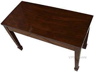 solid wood piano bench
