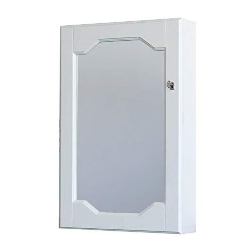 EIU Sieradendoos Houten garderobe Sieradenkast Thuis Muur Met Slot Bruiloft Multifunctionele Spiegel Grote Capaciteit W12/17