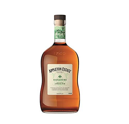 Appleton Estate Signature Blend Rum - Vollmundiger, honigfarbener Jamaica Rum, pur oder für Cocktails und Longdrinks - 1 x 0,7 l