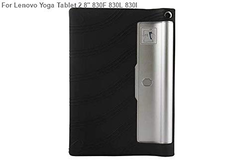 Silikonhülle für Lenovo Yoga Tablet 3 8.0 850F 850M 850L Gummischalenabdeckung für Lenovo Yoga Tab 2 830F 830L 830I Funda Hülle-Yoga Tab2 830F