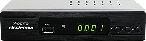 Microelectronic m310plus HDTV Sat Receiver ( 1080p, HDTV, DVB-S2, HDMI, SCART, USB 2.0, Ethernet, RSS-Feeds, Wetter App, IR Sensor) schwarz