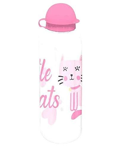 Kids Licensing Little Cats Gobelet en aluminium Blanc/rose 500 ml