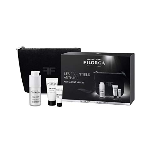 Filorga Optim-Eyes Contorno De Ojos Bolsas,Ojeras y Arrugas,15ml+REGALO NCEF-INTENSIVE, 4ml+Time-Filler, 15ml+Neceser