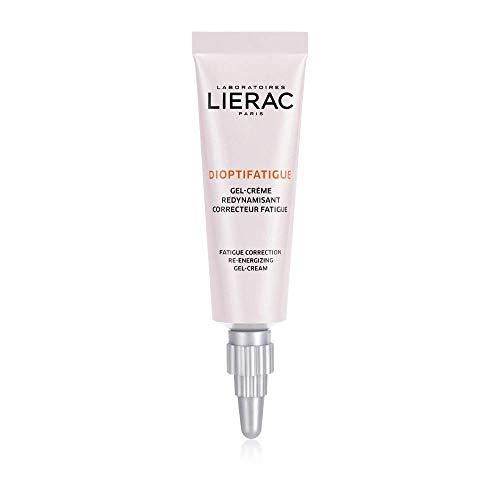 Lierac Dioptifatigue Gel Crema Contorno Occhi Anti Fatica con Peptidi Anti Luce Blu, per Tutti i Tipi di pelle, Formato da 15 ml