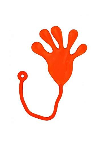 Sonnenscheinschuhe® 1 x Klatschhand aus Silikongummi bunt Klebehand Glibber Hand Spielzeug Mitgebsel