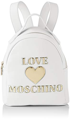Love Moschino Ss21, Backpack Bags Woman, M White Size: medium