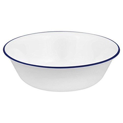 Corelle Livingware Ocean Blues 18 Ounce Soup/Cereal Bowl (Set of 6)