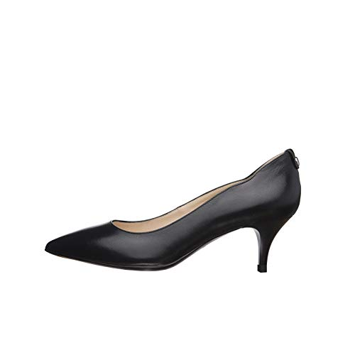 NeroGiardini E012002DE Zapatos De Salón Mujer De Piel - Negro 35 EU