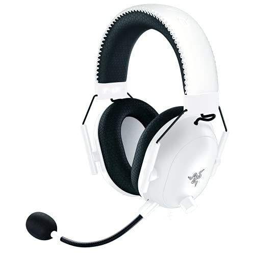 Razer BlackShark V2 Pro Wireless Gaming Headset: THX 7.1 Spatial Surround Sound - 50mm Drivers - Detachable Mic - for PC, PS4, PS5, Switch, Xbox One, Xbox Series X & S - White