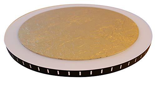 Luce Ambiente Design LED Leuchte Moon L, Kunststoff, Gold Weiß