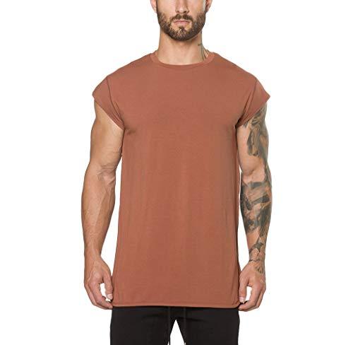 Luckycat Neuer Kleidung Fitness T-Shirt Männer Studios erweitern T-Shirt Sommer Kurzarm Baumwolle Bodybuilding Crossfit Tops Mode 2018