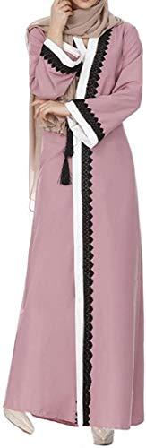Vestido De Fiesta Vestido Damas Túnica Del Vestido Del Kimono Viste Abaya Musulmán Por Las Mujeres Musulmanas Vestir Las Mujeres Vestidos Abaya Dubai Kaftan ( Color : Colour , One Size : One Size )
