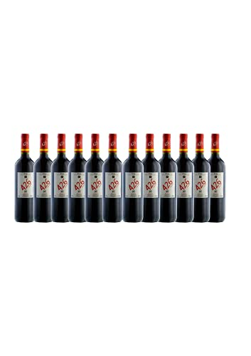 12 Botellas vino tinto crianza 426, añada 2018, D.O.Ca. RIOJA, 75 CL