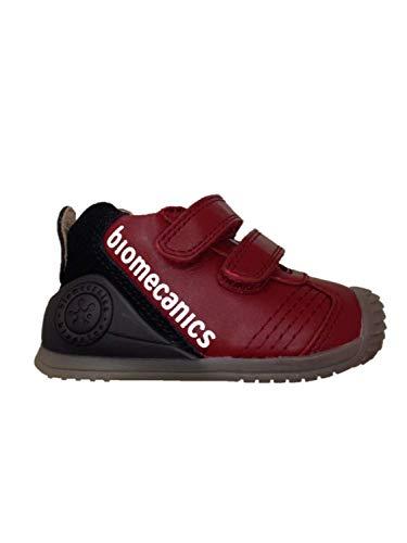 Biomecanic Biogateo, Zapatillas Niña, Rojo (Granate/Sauvage 000), 19 EU