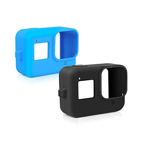 Deyard 60M Waterproof Case Compatible with GoPro Hero 8 Black Underwater Waterproof Protective Housing Case for GoPro… 4 Compatible Size: Specially designed for GoPro Hero 8. Easily operate the shutter/power button or select key/ Mode button underwater with an external button. Upgrade Convenience & Water Resistance: With an integrated design, convenient and time-saving to install and remove. The buckle is fastened with a buckle and a waterproof seal, which is good for extreme sports. 196ft Waterproof Depth & Superior Shockproof Thick Shell: With high strength shell, this GoPro case waterproof up to 196ft/60M. Protect your GoPro action camera for extreme sport like surfing, diving, snorkeling, skiing, drifting, skydiving cycling, etc.