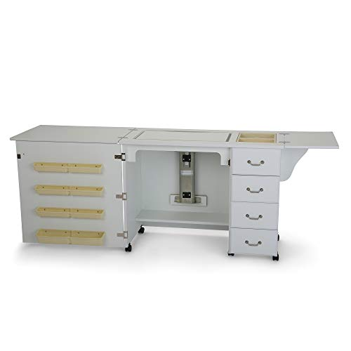 Arrow 351 Norma Jean Sewing Cabinet for Sturdy Sewing, Cutting,...