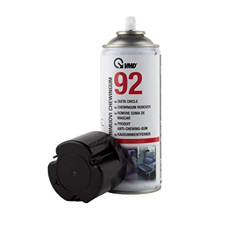 ViD® VMD 92 Kaugummi-Entferner 400ml   Gummi-Entferner Spray für Kerzenwachs   Gummi auf harten Oberflächen   Kältespray   Etiketten-Entferner   Reiniger
