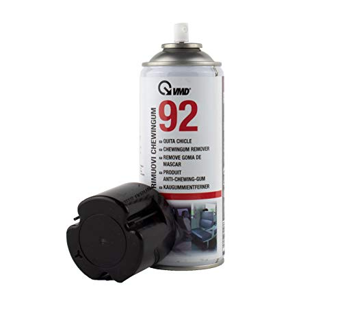 ViD® VMD 92 Kaugummi-Entferner 400ml | Gummi-Entferner Spray für Kerzenwachs | Gummi auf harten Oberflächen | Kältespray | Etiketten-Entferner | Reiniger